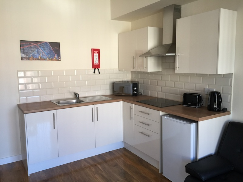 Two-Bedroom Apartment - Kitchen area